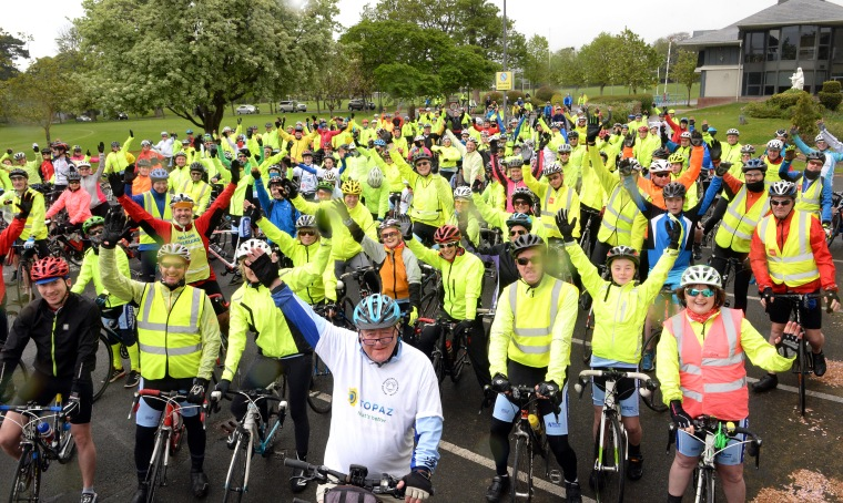 WW 100 Mile Cycle 2017 Group Photo Irish Times