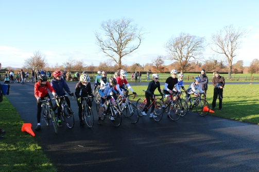 And lots more U14 race start IMG_0971