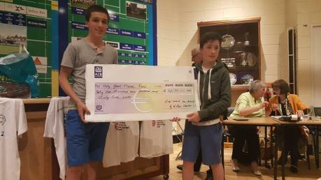 Prizegiving Cheque